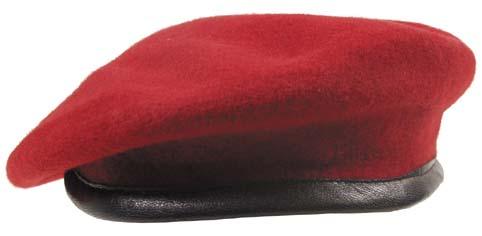 59ca6fe265f Baret Commando - červený  MFH