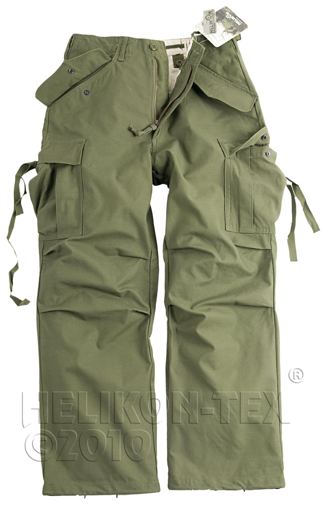 US kalhoty M65 - olivově zelené  Helikon  ba6dabbf17